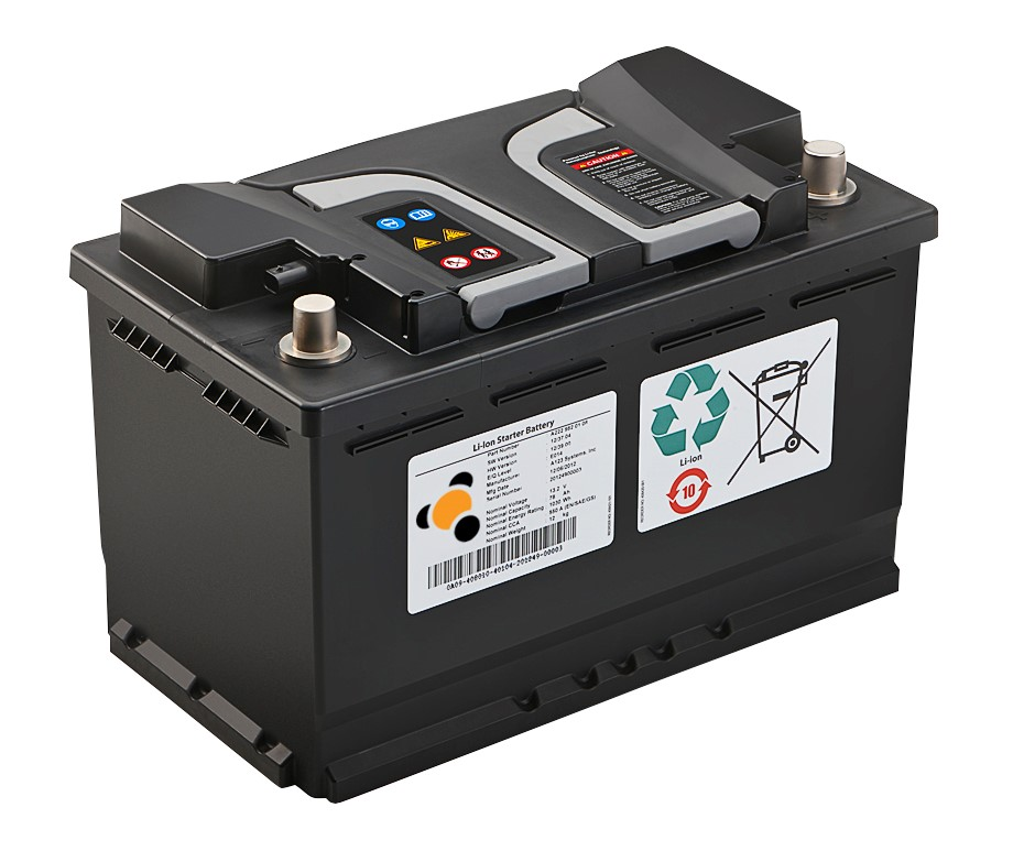 Lithium Ion Car Battery >> A123 Unveils Next Generation Lithium Ion Starter Batteries For